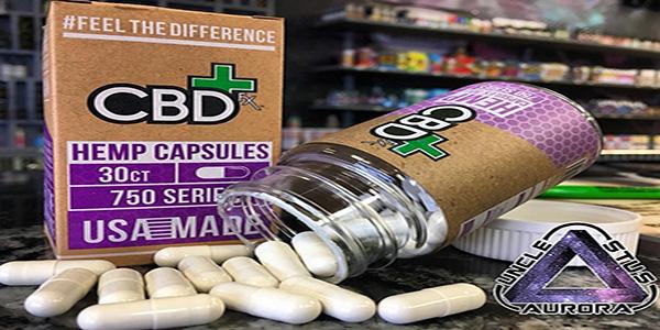 Uncle Stu's CBD capsules